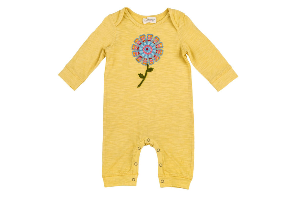 Mimi & Maggie, Baby Girl Apparel - Rompers,  Mimi & Maggie Rainbow Sunflower Romper