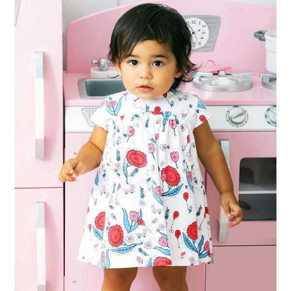 Art & Eden, Baby Girl Apparel - Dresses,  Art & Eden Mini Zander Dress