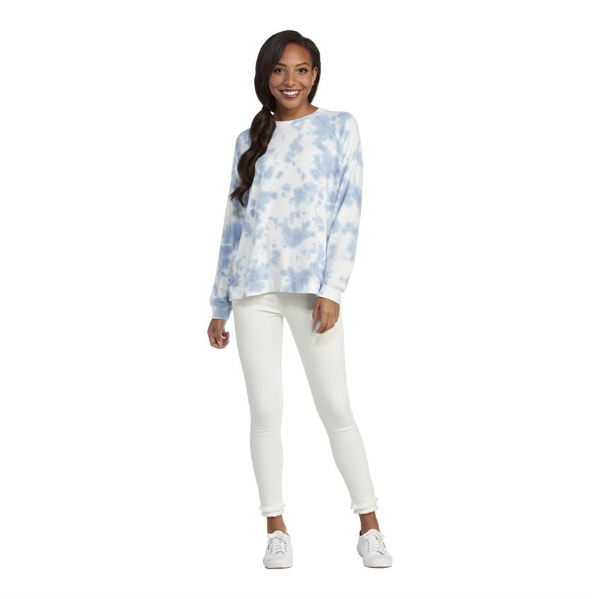 Mud Pie - Blue Bryant Tie Dye Sweatshirt - Eden Lifestyle