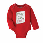 Mud Pie, Baby Girl Apparel - One-Pieces,  Mud Pie - Grandma Christmas Crawler