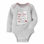 Mud Pie, Baby Boy Apparel - One-Pieces,  Mud Pie - Nana Christmas Crawler