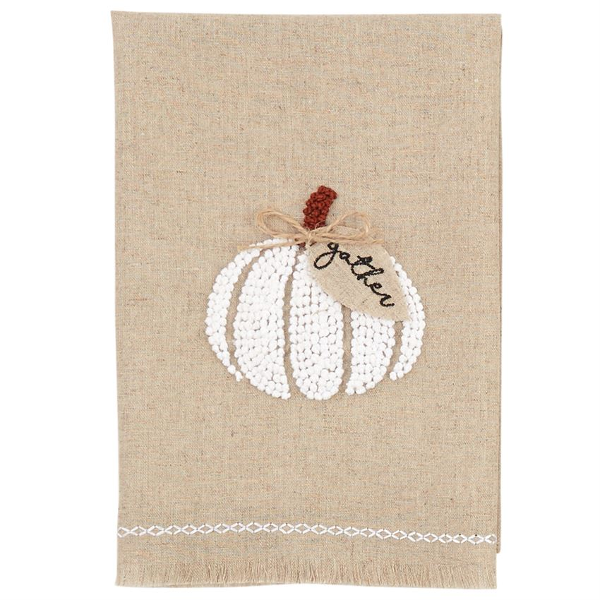 Mud Pie, Home - Serving,  Mud Pie Gather French Knot Towel
