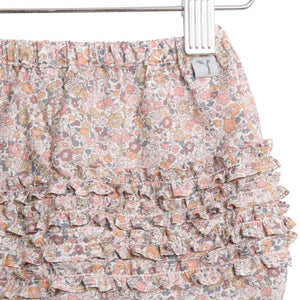 Wheat, Baby Girl Apparel - Bloomers,  Wheat Nappy Pants Ruffles - Eggshell