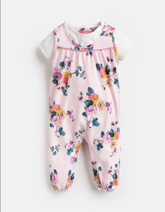 Joules Olive Printed Jumpsuit Set