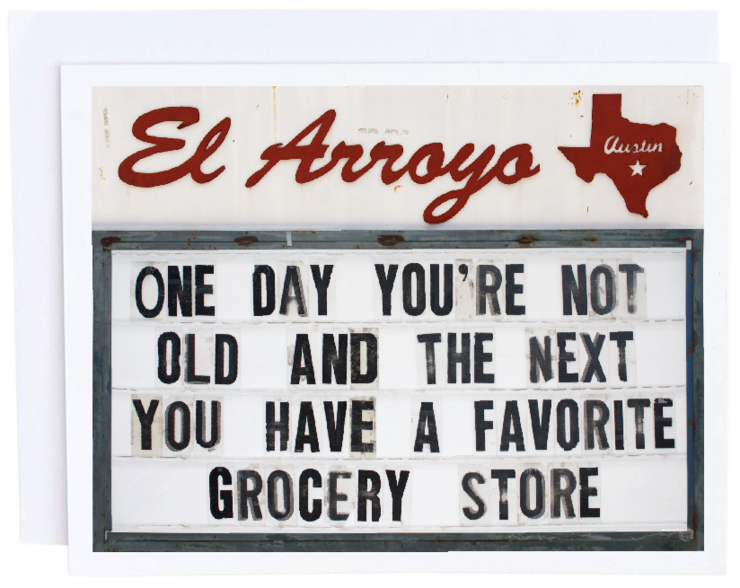 El Arroyo Grocery Store Card