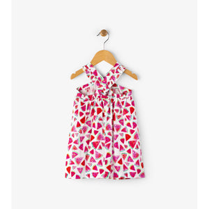 Hatley, Girl - Dresses,  Hatley Juicy Watermelon Baby Crisscross Dress