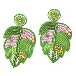 Eden Lifestyle, Accessories - Jewelry,  Palm Leaf Earring