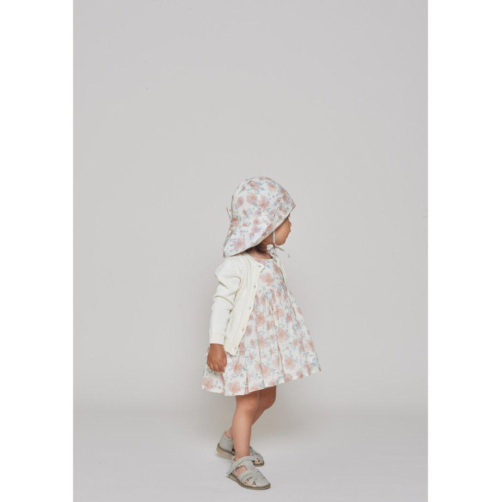 Wheat Pinafore Wrinkes Ivory-Baby Girl Apparel - Dresses-Wheat-6M-Eden Lifestyle