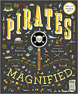 Eden Lifestyle, Books,  Pirates Magnified: With a 3x Magnifying Glass
