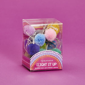Eden Lifestyle, Gifts - Other,  Pom Pom String Lights in Gift Box