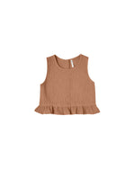 Rylee and Cru Oceanside Top Terracotta - Eden Lifestyle