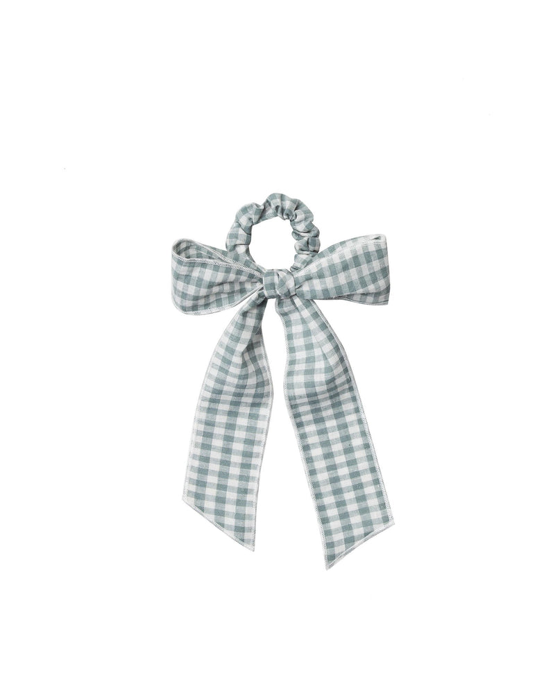 Rylee & Cru Hair Scarf Tie Scrunchie Gingham