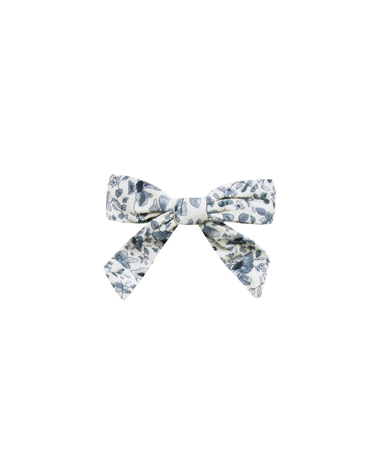 Rylee and Cru Bow Blue Floral - Eden Lifestyle
