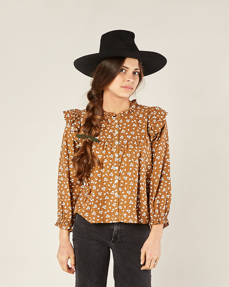 Rylee and Cru, Women - Shirts & Tops,  Rylee & Cru Ditsy Rooney Blouse
