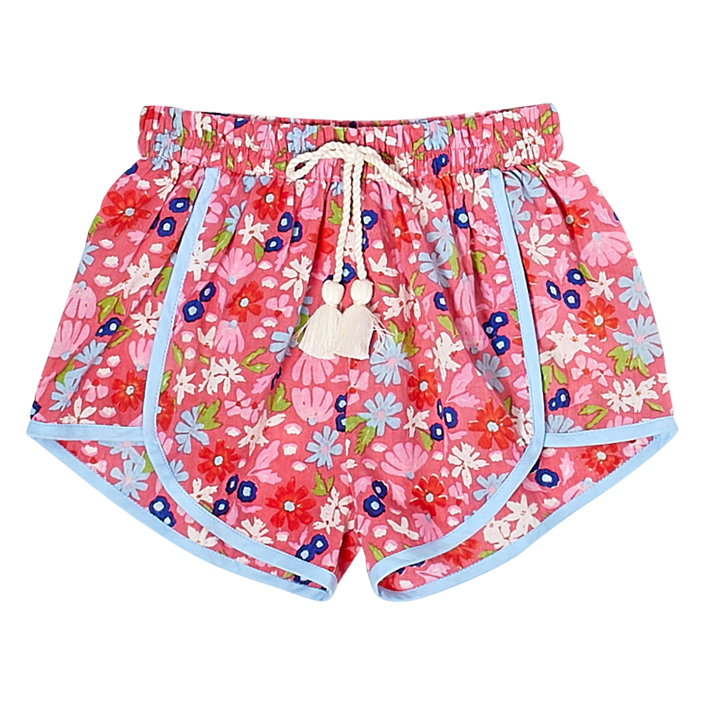 Pink Chicken Millie Short Honeysuckle Multi Floral - Eden Lifestyle