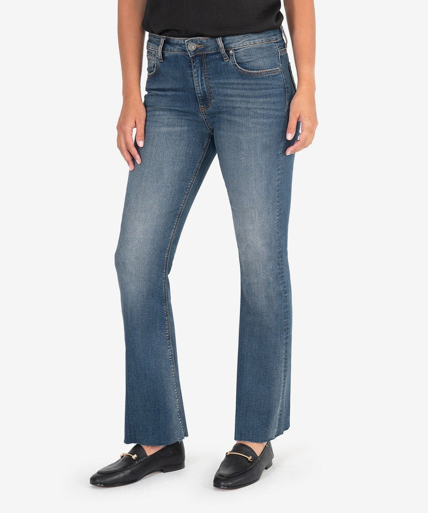 KUT from the Kloth, Women - Denim,  KUT from the Kloth | STELLA KICK FLARE (SWITCH WASH)