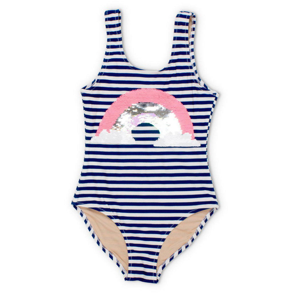 Shade Critters Magic Two-Way Sequins Rainbow Scoop Swimsuit-Girl - Swimwear-Shade Critters-3T-Eden Lifestyle
