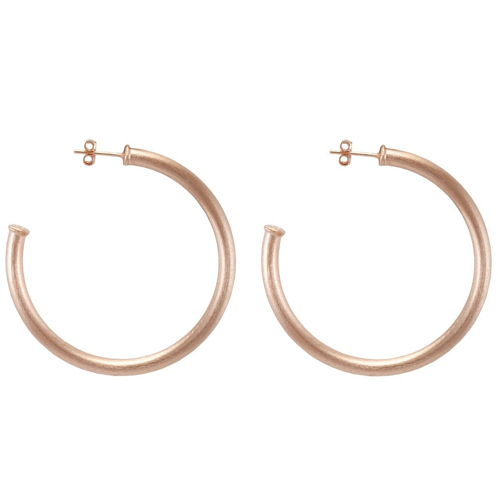Sheila Fajl, Accessories - Jewelry,  Sheila Fajl - Small Rose Gold Everybody's Favorite Hoops
