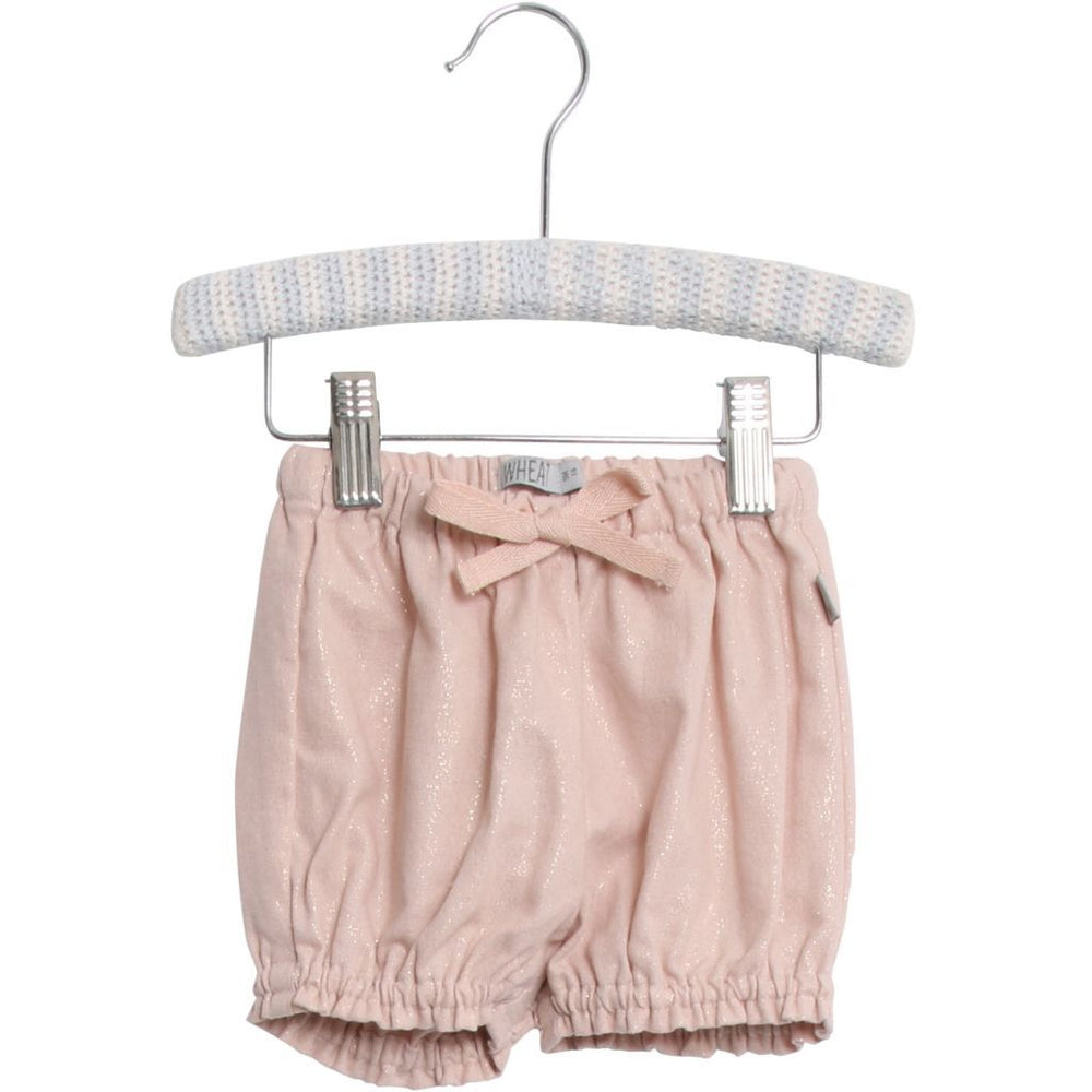 Wheat Shorts India Powder-Baby Girl Apparel - Shorts-Wheat-3M-Eden Lifestyle