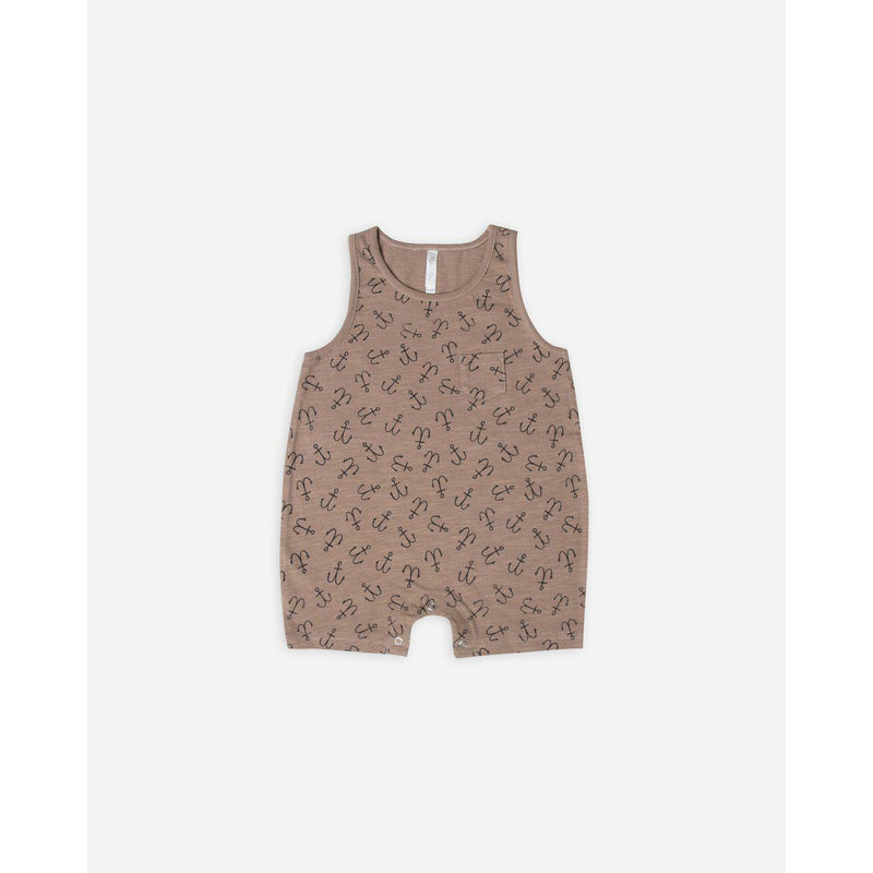 Rylee and Cru, Romper, Eden Lifestyle, Sleeveless Onepiece - Anchors