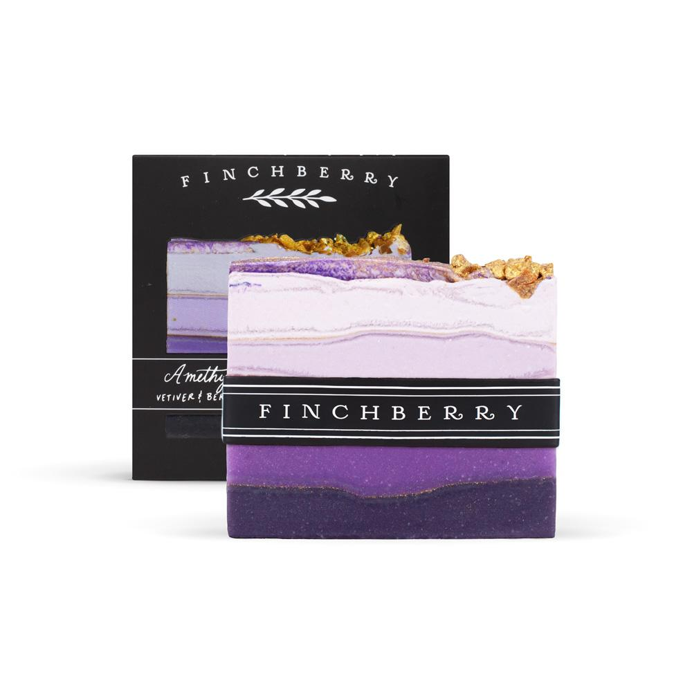 Finch Berry Amethyst - Handcrafted Vegan Soap