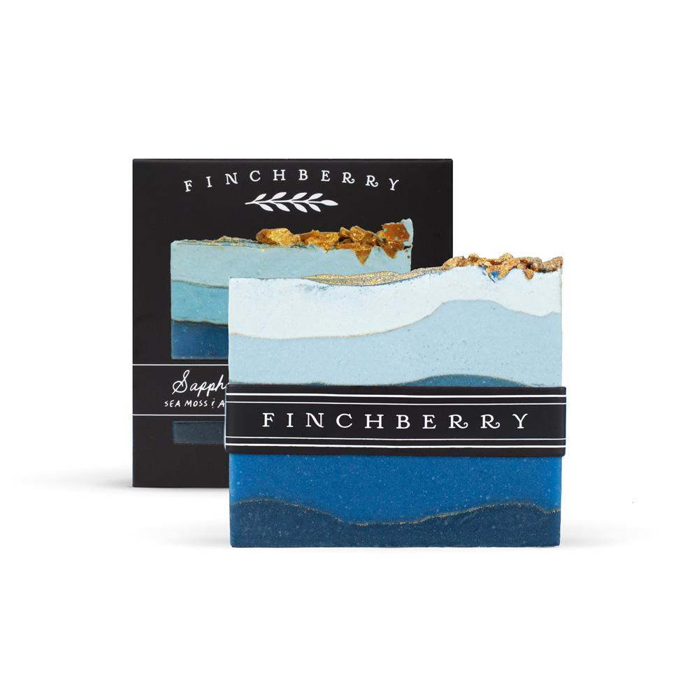Finch Berry, Gifts - Beauty & Wellness,  Finch Berry Sapphire - Handcrafted Vegan Soap