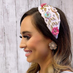 Eden Lifestyle, Accessories - Bows & Headbands,  Spring Flowers Headband