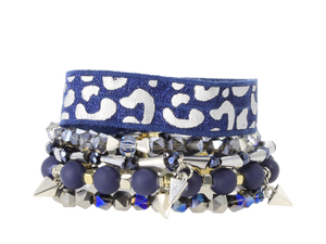 Eden Lifestyle, Accessories - Jewelry,  NFL Cowboys Game Day Stack