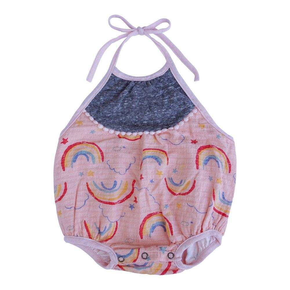 Miki Miette, Baby Girl Apparel - One-Pieces,  STAR RAINBOWS