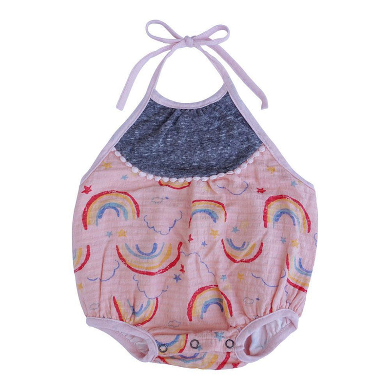 STAR RAINBOWS-Baby Girl Apparel - One-Pieces-Miki Miette-3M-Eden Lifestyle