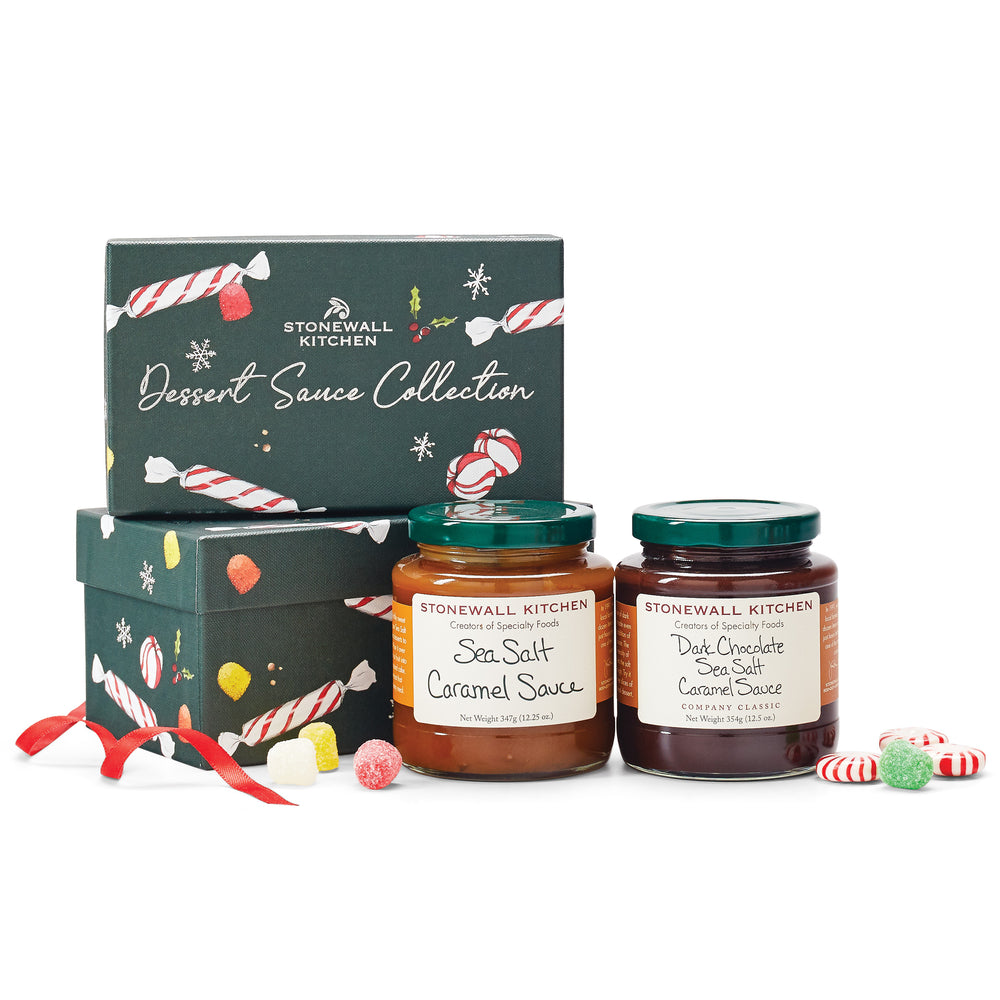 Stonewall Kitchen Holiday 2020 Dessert Sauce Collection