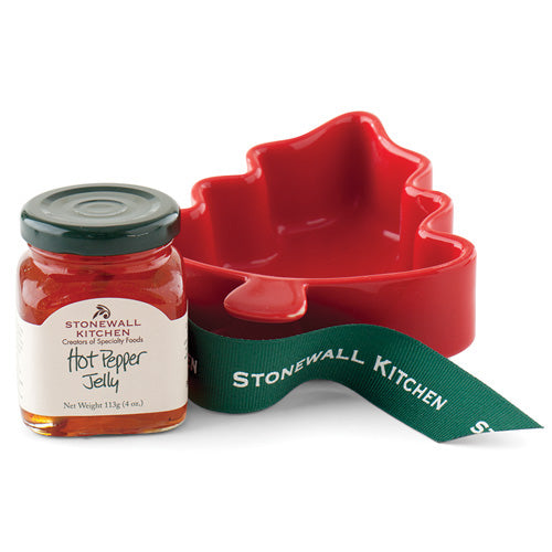 Stonewall Kitchen Hot Pepper Jelly Tree Ramekin