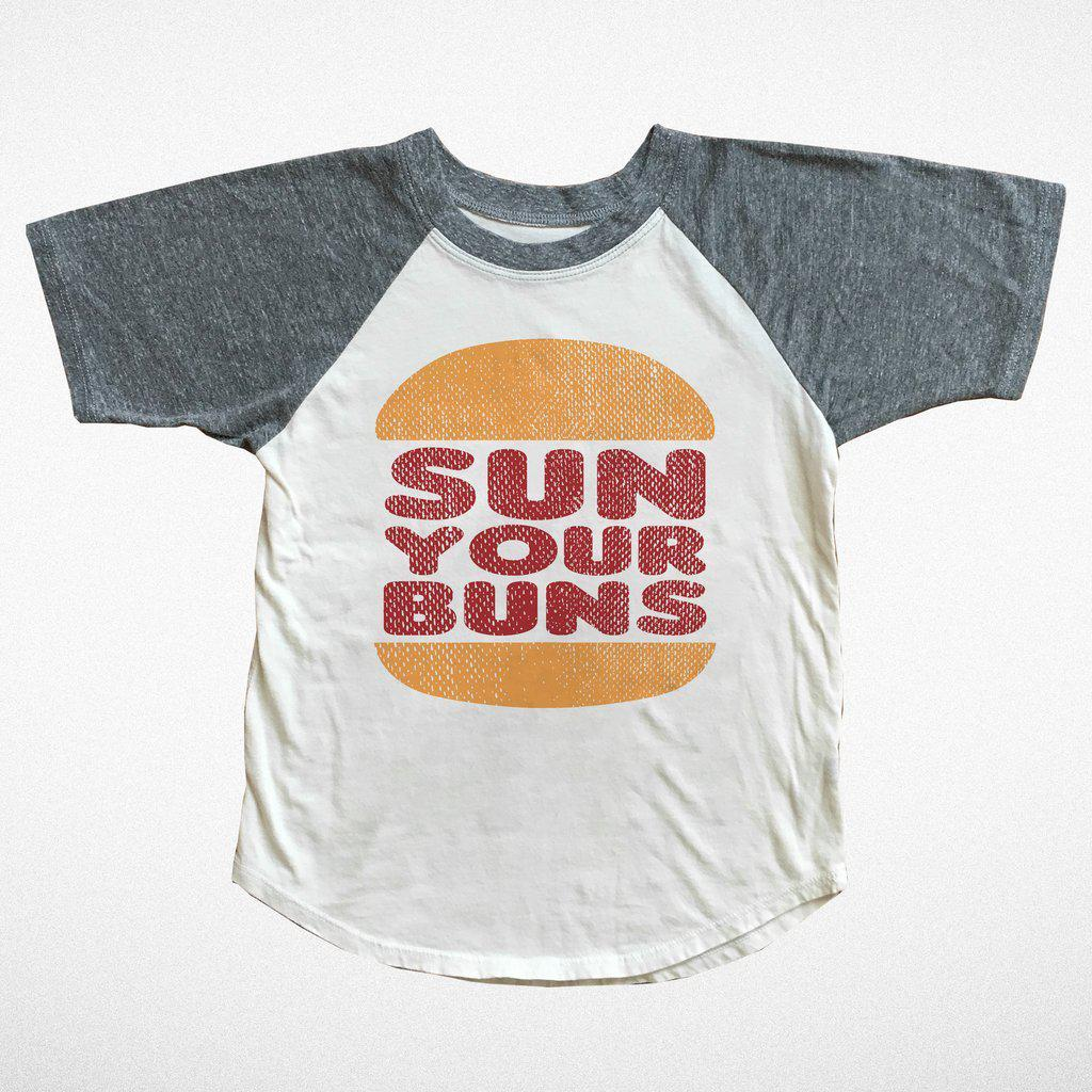 Sun Your Buns Tee-Baby Boy Apparel - Tees-Tiny Whales-12-18M-Eden Lifestyle
