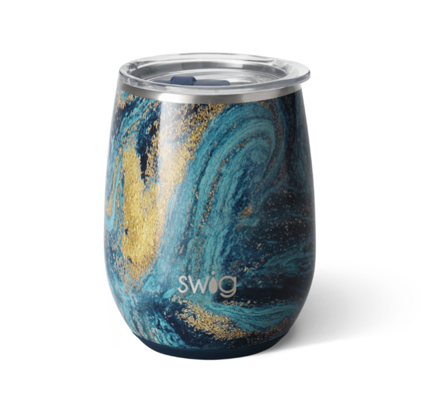 Swig - Starry Night Stemless Wine Cup (14oz)