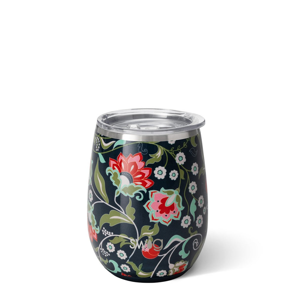 Swig, Home - Drinkware,  Swig Lotus Blossom Stemless Wine Cup (14oz)