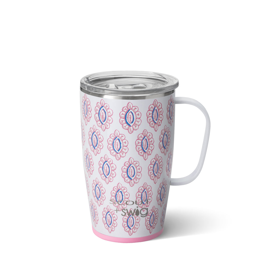 Swig SCOUT+SWIG Rose's Luxe Travel Mug (18oz) - Eden Lifestyle
