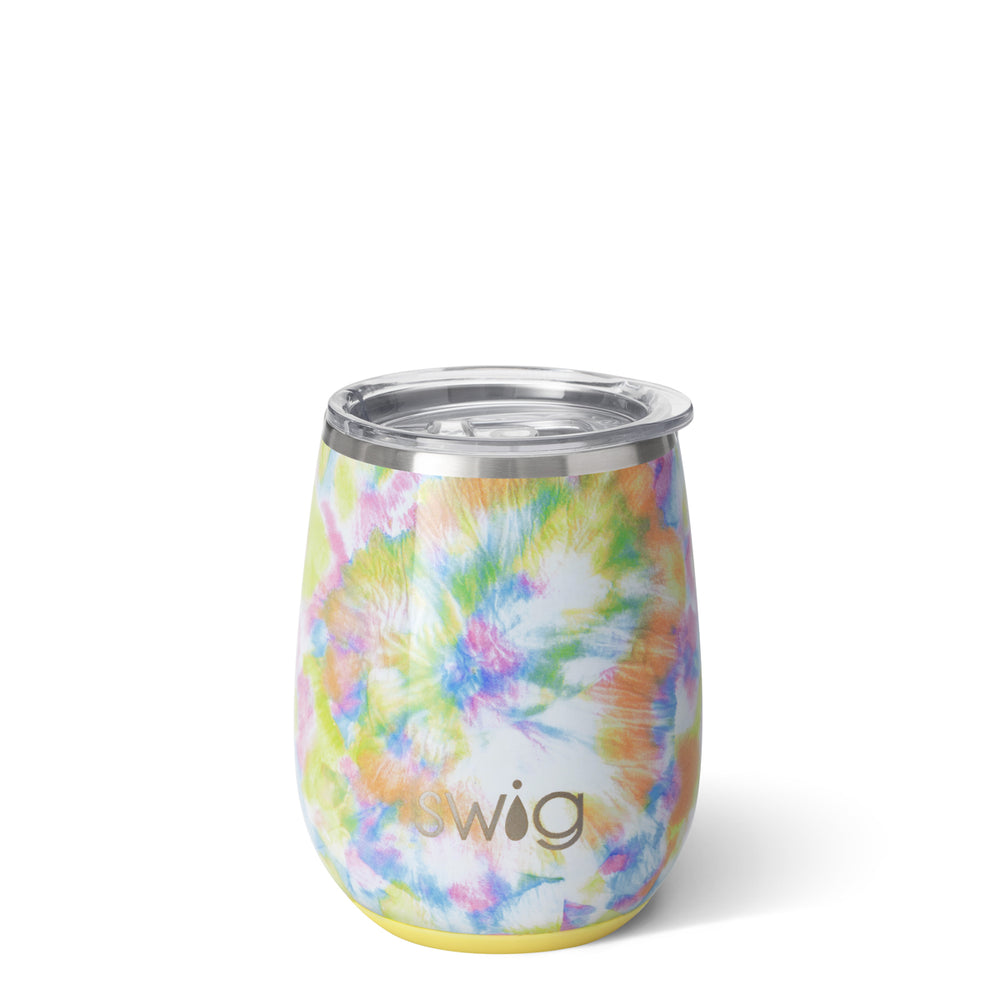 Swig You Glow Girl Stemless Cup (14oz) - Eden Lifestyle