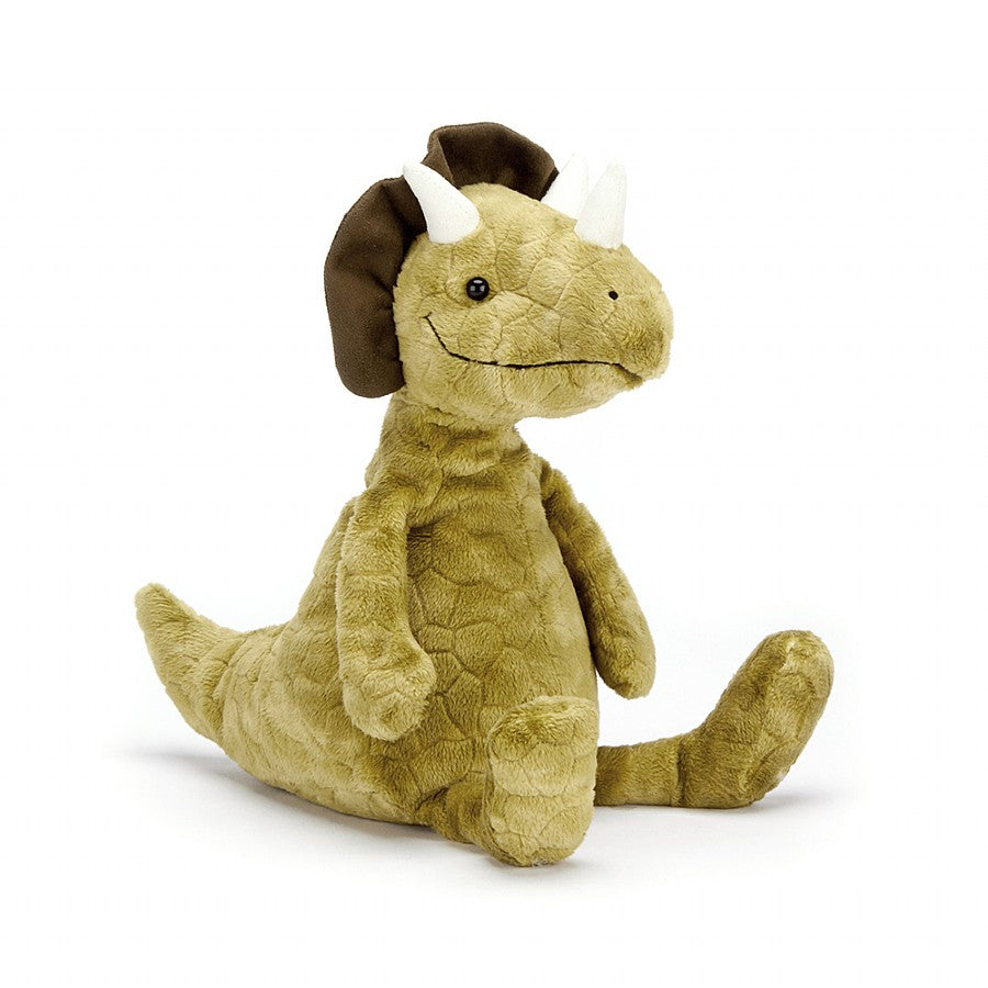 Jellycat Trevor Triceratops-Gifts - Stuffed Animals-Jellycat-Eden Lifestyle