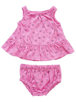 Frankie & Sue, Baby Girl Apparel - Outfit Sets,  Tess 2-Piece Set - Watermelon Small Hearts