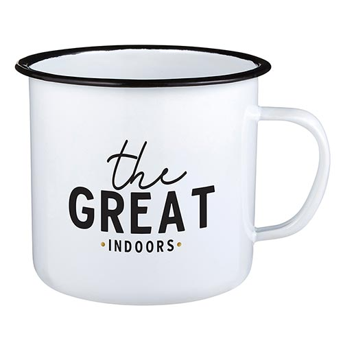 Eden Lifestyle Boutique, Home - Drinkware,  The Great Indoors Enamel Mug