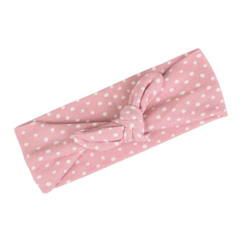 Milkbarn Headband-Accessories - Bows & Headbands-Milkbarn-Pink Polka Dot-Eden Lifestyle