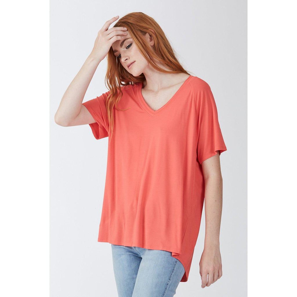 Taylor Casual Top-Women - Tees-Another Love-New Red-Small-Eden Lifestyle
