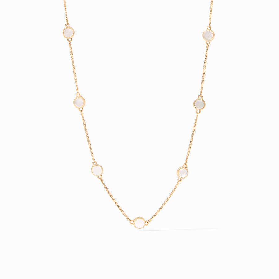Julie Vos - Valencia Delicate Station Necklace