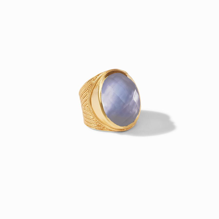 Julie Vos, Accessories - Jewelry,  Julie Vos - Verona Statement Ring Iridescent Slate Blue