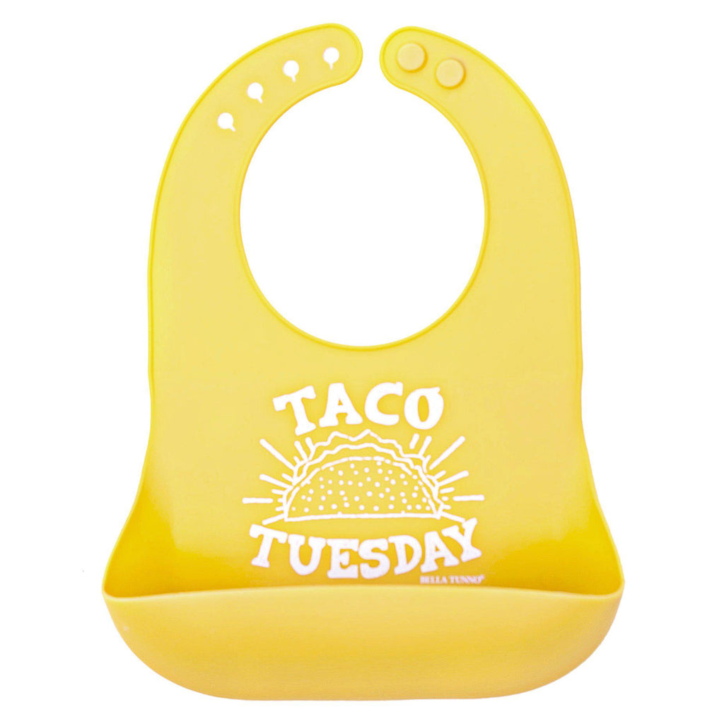 Bella Tunno Taco Tuesday Wonder Bib-Accessories-Bella Tunno-Eden Lifestyle