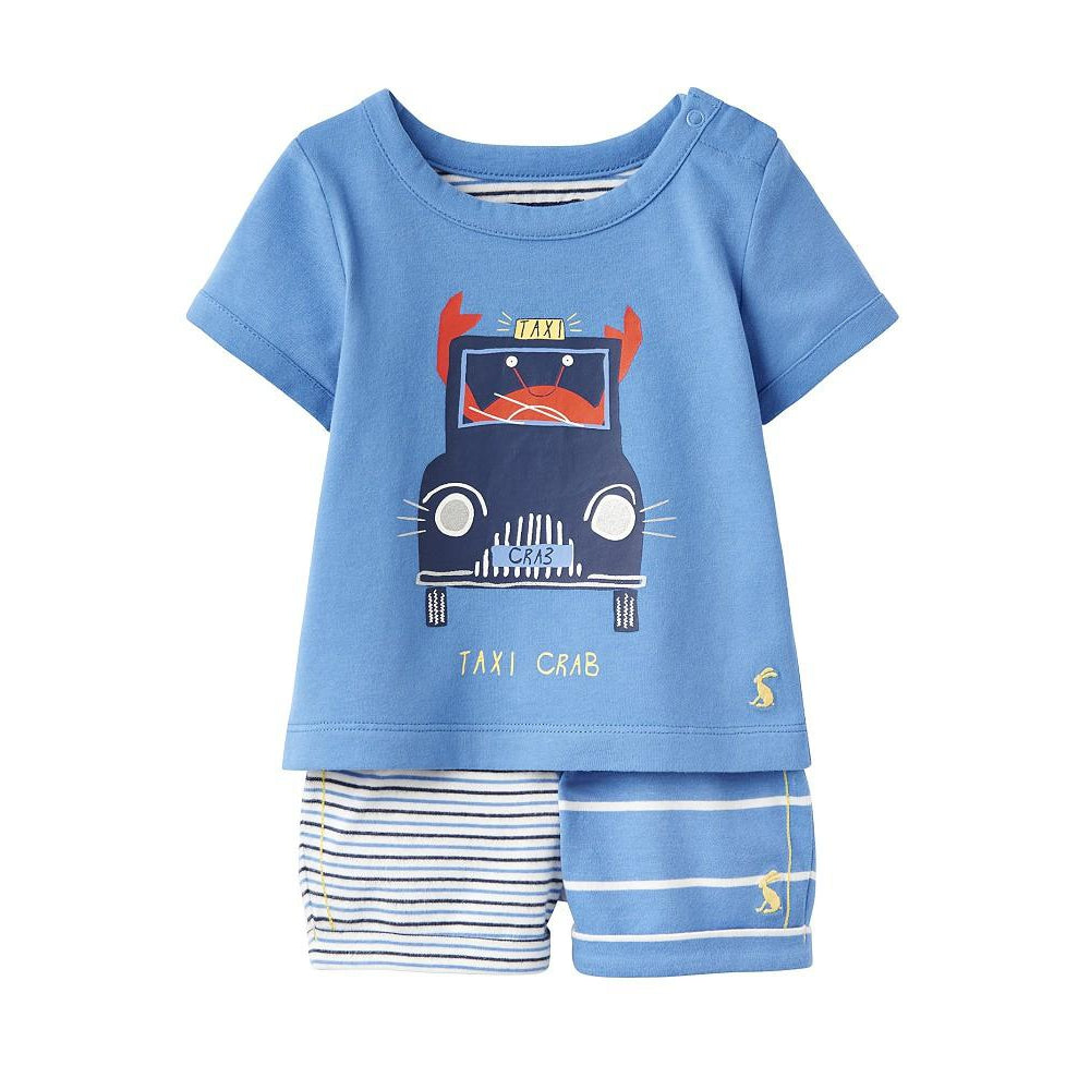 Barnacle T-Shirt and Shorts Set-Boys Sets-Joules-18-24M-Eden Lifestyle
