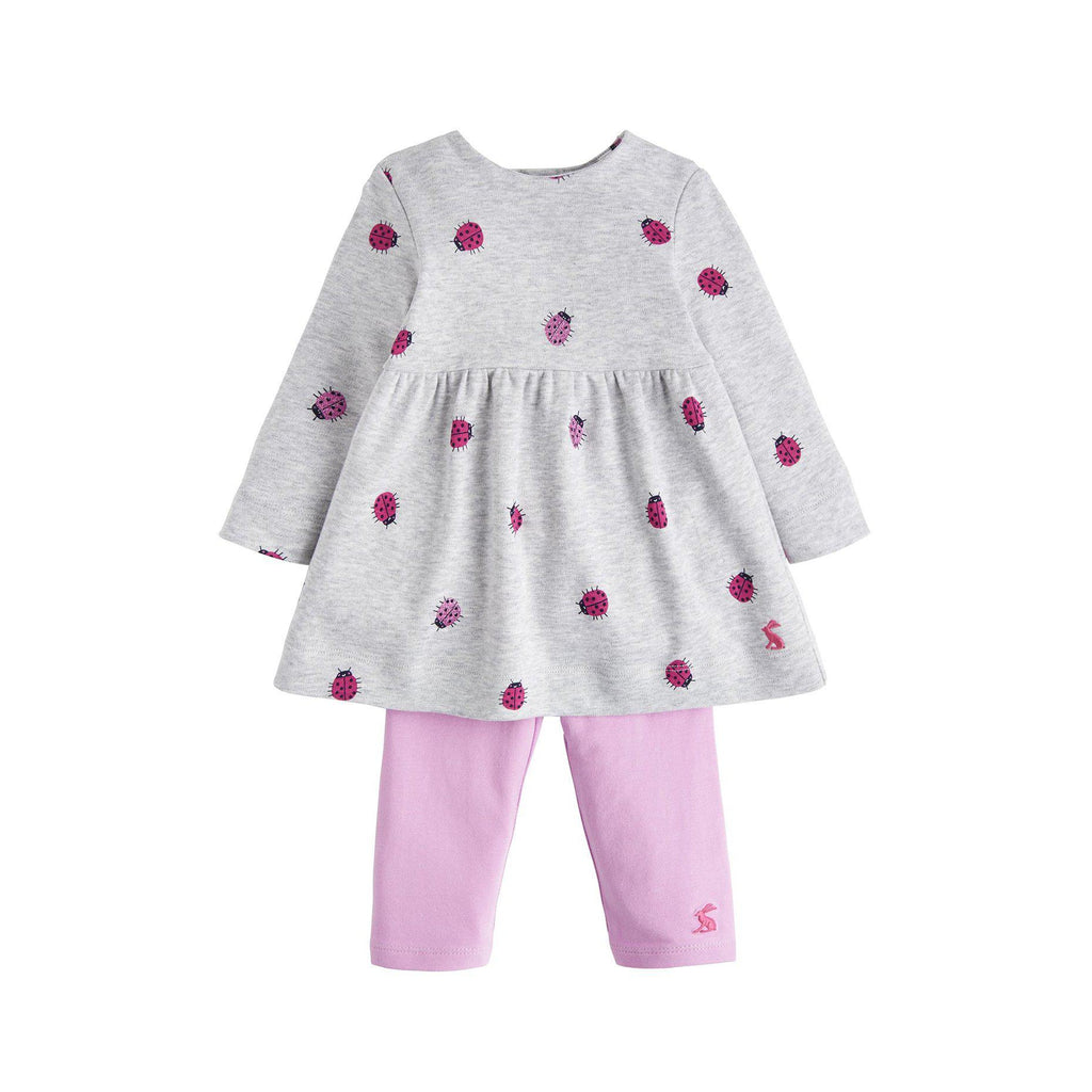 Joules Christina Dress and Legging Set-Baby Girl Apparel - Outfit Sets-Joules-6-9M-Eden Lifestyle