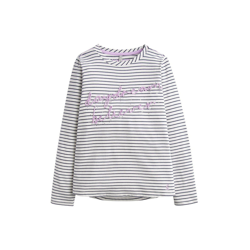 Joules Ava Embellished T-Shirt-Girl - Shirts & Tops-Joules-6-Eden Lifestyle
