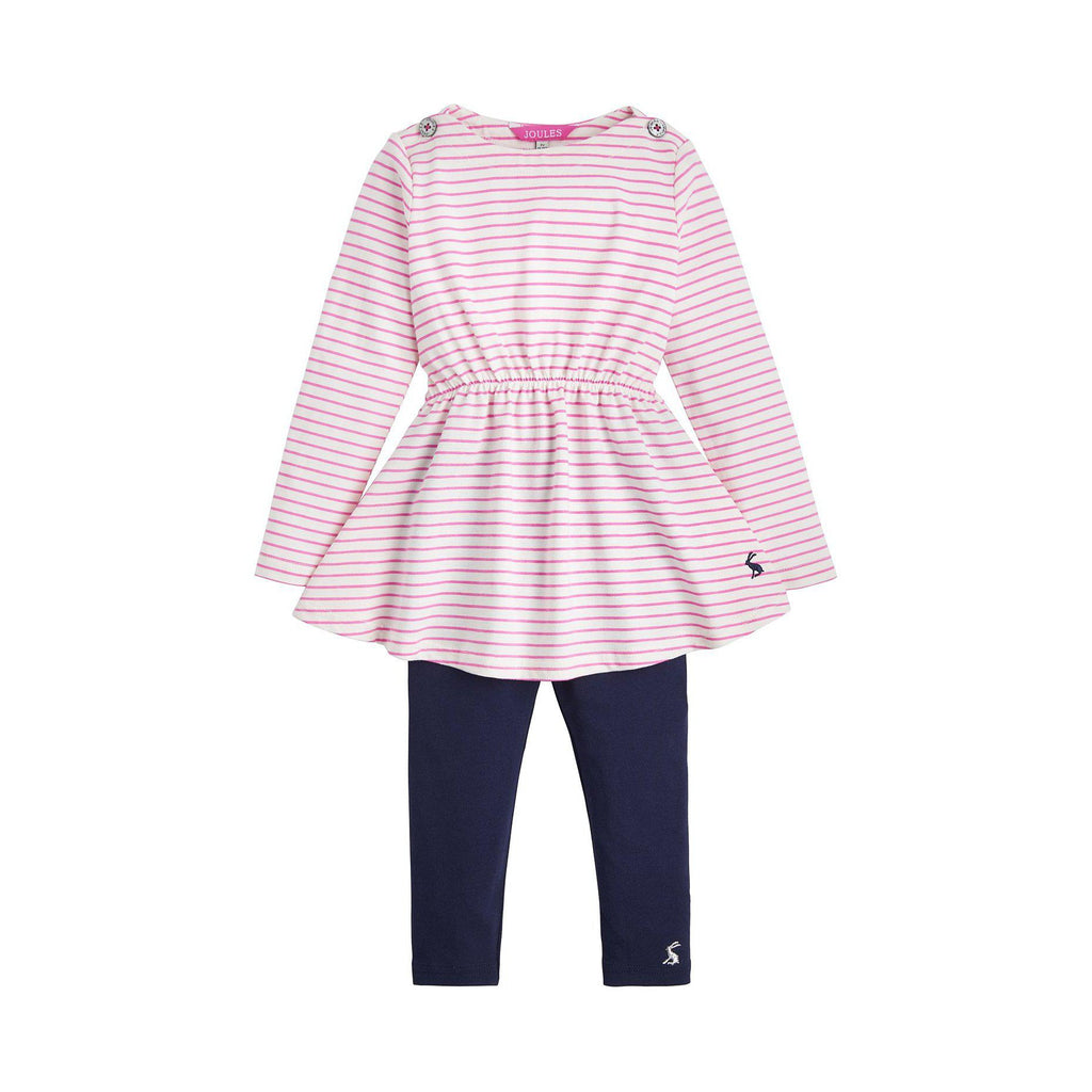 Joules Striped Girls Set-Baby Girl Apparel - Outfit Sets-Joules-3-Eden Lifestyle