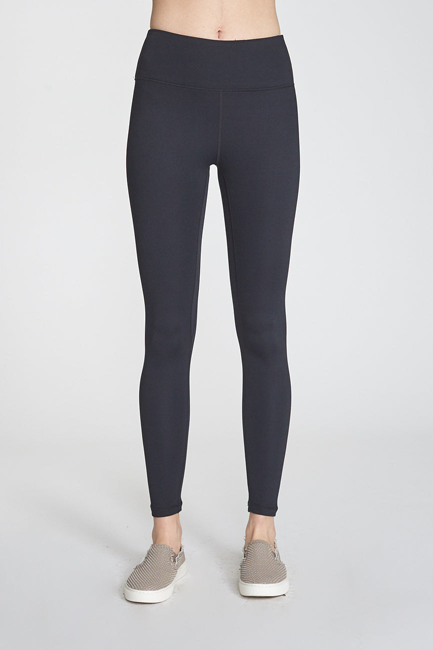 Andia Black Second Skin Performing Leggings